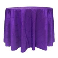 Bombay 60-Inch Round Tablecloth in Purple