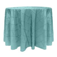 Bombay 60-Inch Round Tablecloth in Turquoise