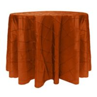 Bombay 60-Inch Round Tablecloth in Orange