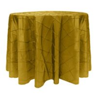 Bombay 60-Inch Round Tablecloth in Green