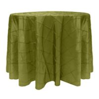 Bombay 60-Inch Round Tablecloth in Moss Green