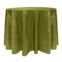 Bombay 72-Inch Round Tablecloth in Moss Green