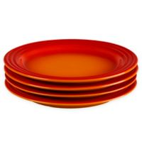 Le Creuset® 8.5-Inch Salad Plates in Flame (Set of 4)