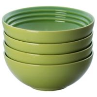 Le Creuset® Soup/Cereal Bowls in Palm (Set of 4)
