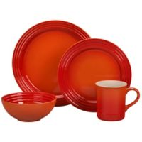Le Creuset® 16-Piece Dinnerware Set in Flame