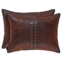 J. Queen New York™ Katonah Boudoir 15-Inch x 22-Inch Oblong Throw Pillow in Brown