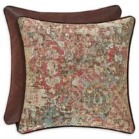 J. Queen New York™ Katonah 20-Inch Square Throw Pillow in Brown