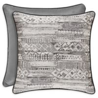 J.Queen New York™ Brandon 20-Inch Square Throw Pillow in Graphite