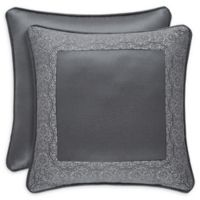 J. Queen New York™ Rigoletto 18-Inch Square Throw Pillow in Charcoal