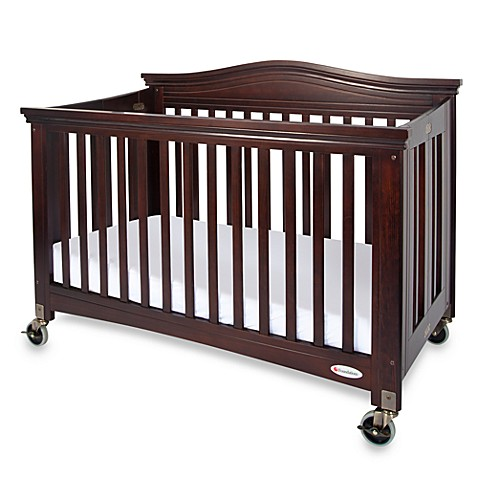 Foundations 174 Royale 174 Fixed Side Folding Full Size Crib In
