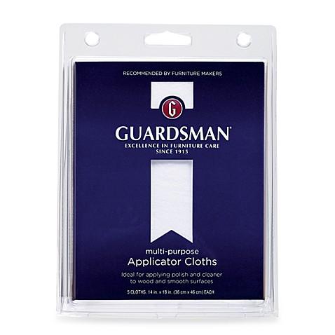 Guardsman 174 5 Pack Multi Purpose Applicator Cloth Bed