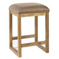 "Ink+ivy™ Solid Wood Construction Upholstered Easton 26"" Bar Stool in Taupe"