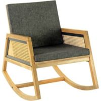 Moe's Home Collection Rocker Ashton Chair in Natural