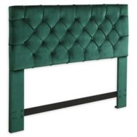Chic Home Clytia Twin Velvet Headboard in Green