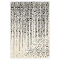"Unique Loom Jennifer Del Mar 2'2"" X 3' Powerloomed Area Rug in Gray"