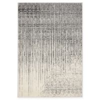 Unique Loom Jennifer Del Mar 4' X 6' Powerloomed Area Rug in Gray