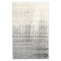Unique Loom Jennifer Del Mar 5' X 8' Powerloomed Area Rug in Gray