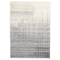 Unique Loom Jennifer Del Mar 7' X 10' Powerloomed Area Rug in Gray