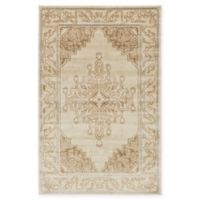 Unique Loom Kumla Stockholm 5' X 8' Powerloomed Area Rug in Beige