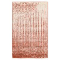"Unique Loom Jennifer Del Mar 3'3"" X 5' Powerloomed Area Rug in Red"