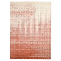 Unique Loom Jennifer Del Mar 7' X 10' Powerloomed Area Rug in Red