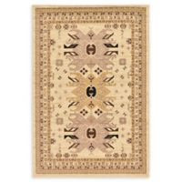 Unique Loom Oasis Heriz 6' X 9' Powerloomed Area Rug in Ivory