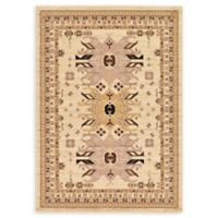Unique Loom Oasis Heriz 7' X 10' Powerloomed Area Rug in Ivory