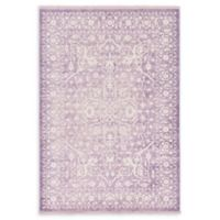 Unique Loom Olympia Arcadia 7' X 10' Powerloomed Area Rug in Purple