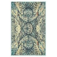 "Unique Loom Munch Arte 2'2"" X 3' Powerloomed Area Rug in Blue"