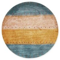 """Unique Loom Shoshone Tribe 5'5"""" Round Powerloomed Area Rug"""