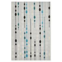 Unique Loom Seattle Transitional 7' X 10' Powerloomed Area Rug in Gray