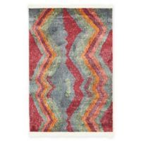 """Unique Loom Sioux Tribe 2'2"""" X 3' Powerloomed Area Rug in Gray"""