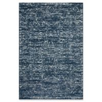 Magnolia Home By Joanna Gaines Lotus 2'2 x 7' 6 Runner in Blue/Cream