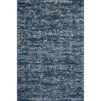 Magnolia Home By Joanna Gaines Lotus 9'3 x 13' Area Rug in Blue/Cream