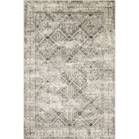 Magnolia Home by Joanna Gaines Elliston 3'6 x 5'6 Area Rug in Ivory/Black