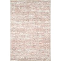 Magnolia Home by Joanna Gaines Knotted 2'3 x 3'9 Accent Rug in Ivory/Blush