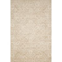 Magnolia Home by Joana Gaines Damask 3'6 x 5'6 Area Rug in Sand/Ivory