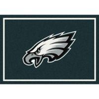 NFL Philadelphia Eagles 5-Foot 4-Inch x 7-Foot 8-Inch Medium Team Spirit Rug