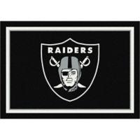 NFL Oakland Raiders 7-Foot 8-Inch x 10-Foot 9-Inch Large Team Spirit Rug
