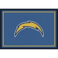 NFL San Diego Chargers 7-Foot 8-Inch x 10-Foot 9-Inch Large Team Spirit Rug