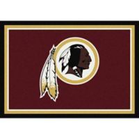 NFL Washington Redskins 5-Foot 4-Inch x 7-Foot 8-Inch Medium Team Spirit Rug