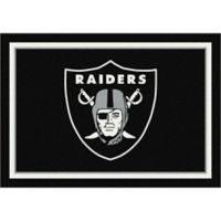 NFL Oakland Raiders 2-Foot 8-Inch x 3-Foot 10-Inch Extra Small Team Spirit Rug