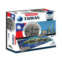 4D Cityscape Time 850-Piece Taiwan Jigsaw Puzzle