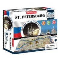 4D Cityscape Time St. Petersburg, Russia Puzzle
