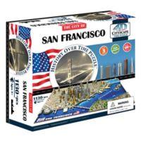 4D Cityscape Time San Francisco, USA Puzzle