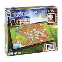 4D Cityscape Time 570-Piece National Geographic Ancient Rome Jigsaw Puzzle