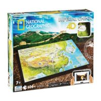 4D Cityscape Time 600-Piece National Geographic Imperial China Jigsaw Puzzle