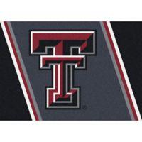 Texas Tech University 5-Foot 4-Inch x 7-Foot 8-Inch Medium Spirit Rug