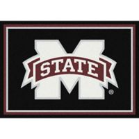 Mississippi State University 5-Foot 4-Inch x 7-Foot 8-Inch Medium Spirit Rug