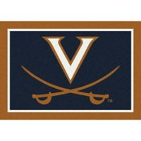 University of Virginia 3-Foot 10-Inch x 5-Foot 4-Inch Spirit Rug